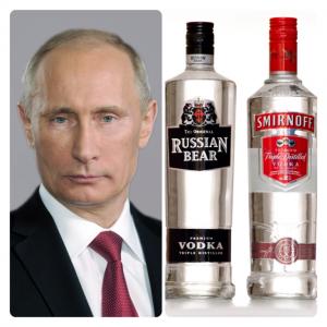 Ilustrasi : Putin dan Vodka