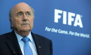 Presiden FIFA Sepp Blatter (Sumber : The Guardian)