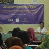 Launching Gender Watch, Pemantauan Penanggulangan kemiskinan berbasis Komunitas dan Gender