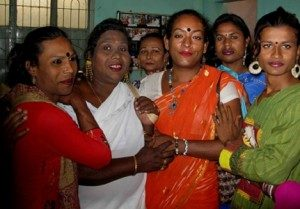 Komunitas Hijra Bangladesh Sumber: ucannews.com