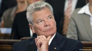 Joachim Gauck diucapkan ialah Presiden Jerman yang terpilih pada 18 Maret 2012. Mantan pastor Lutheran ini menjadi terkenal sebagai aktivis Hak asasi manusia yang anti-komunis di Jerman Timur