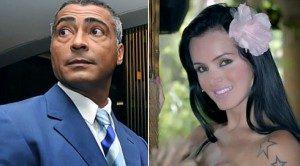 Romario dan Thalita Zampirolli (igay.ig.com.br)