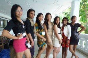 Transgender representatives in Bangkok