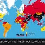 Daftar Negara yang Menghormati Kebebasan Pers dan Internet Tahun 2014