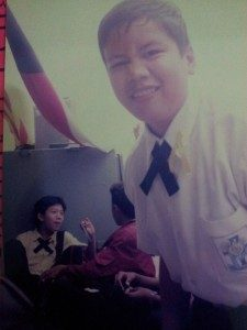 Foto masa SMP di tahun 2002 saat mengikuti study tour (Sumber : Koleksi pribadi penulis)