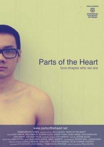 Ilustrasi Parts of the Heart.