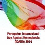 'QUO VADIS IDAHOT' Sebuah Inisiatif Penelitian Tahap Awal  Sebagai Upaya Untuk Mendukung Komunitas LGBTI dan Advokasi Hak Seksualitas