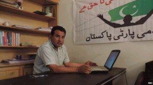 Mantan wartawan Arshad Sulahri berkampanye untuk hak-hak LGBT