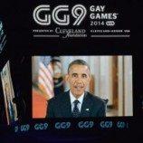 Obama Ikut Buka Pesta Olahraga Gay Lewat Video