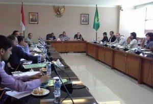 Dialog Menag dengan AJI dan Jurnalis Asing. foto: kemenag.go.id