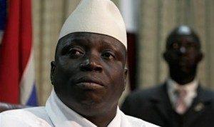 Presiden Gambia Alhaji Yahya Jammeh