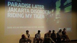 Pemutaran film dan diskusi pada selasa 10/22/2014, Foto.Dok/SuaraKita./Yatna Pelangi