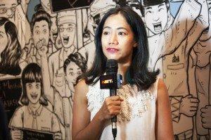 "Nia Dinata, peluncuran film dokumenter ""Nyalon"", 19/10/2014. Foto,Dok/SuaraKita/Yatna Pelangi)"