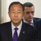 Dukung LGBT, Ban Ki-moon Pakai Dasi Ungu