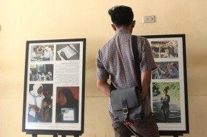 Pameran Foto tema Keberagaman Idenstitas Gender di UNILA