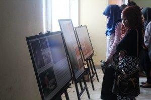 Pameran foto dilaksanakan di Gedung B.31FISIP UNILA