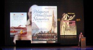 Pidato Kebudayaan Dr. Hilman Farid, Teater Jakarta, Taman Ismail Marzuki (10/11/2014). Foto,Dok/SuaraKita/Yatnapelangi.