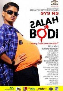 Poster Film Salah Bodi (Sumber : 21cineplex.com)