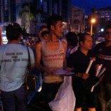 LGBT Kota Manado peringati Hari AIDS dengan Aksi Damai