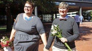 Saat ini, pernikahaan sesama jenis legal di 35 negara bagian AS. (Reuters/Jay Paul)