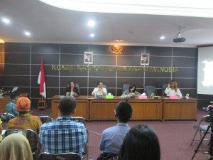 Seminar Umum; Masa Depan HAM Kelompok LGBT Di Pemerintahan baru (Foto : Baim/Suara Kita)