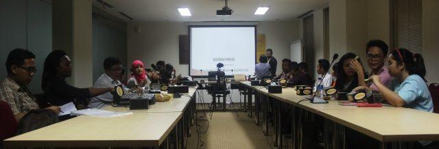 Suasana Ruang Diskusi (Foto: Yatna Pelangi/Suara Kita)