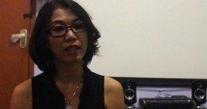 Tunggal Pawesti, Narasumber Diskusi (Foto: Adek/Suara Kita)
