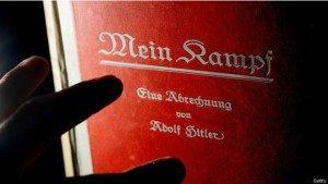 Buku Mein Kampf. Ilustrasi, getty images