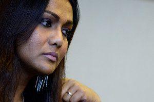 Nisha Ayub, Aktifis waria malaysia yang gigih memperjuangkan hak-hak waria di negaranya. Foto. The Malaysia Insider/Najjua Zulkefli