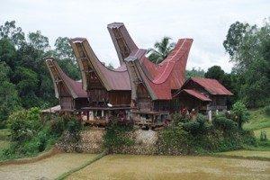 Rumah Adat Tana Toraja (Sumber ; Nurdiyansah/Suara Kita)
