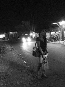 Model, Donita. Foto, Yatna Pelangi