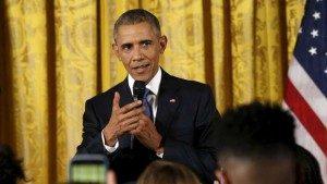 Obama berkomentar soal persamaan hak kaum gay dalam kunjungan ke Kenya. Afrika memang dikenal benua yang tidak ramah pada kaum gay. (Reuters/Kevin Lamarque)