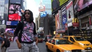 Aming di New York. (VOA/Naratama)