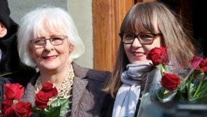 6-11 Icelandic Prime Minister Johanna Sigurdardottir and Jonina Leosdottir3