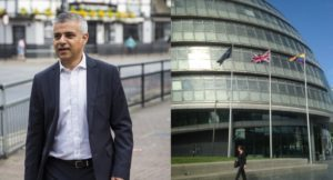 LONDON, ENGLAND - MAY 09: London Mayor Sadiq Khan makes his way to work after leaving his home in Tooting on May 9, 2016 in London, England. Mr Khan begins his first day at his City Hall office after winning the race to become London's Mayor with 56.8% of the vote. (Photo by Jack Taylor/Getty Images)