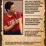 Bincang Tokoh bersama Ricky Gunawan (LBH Masyarakat)