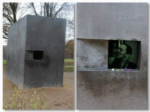The Memorial to Homosexuals persecuted under Nazism