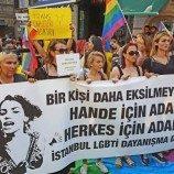 Demo Menuntut Keadilan Bagi Aktivis Transgender Turki Yang Dibunuh