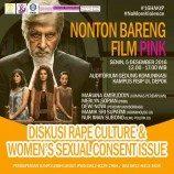 [Press Release] Memahami Rape Culture dan Women's Consent Issue Sebagai Upaya Menghapus Kekerasan Seksual