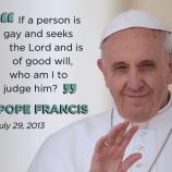 [Opini] Paus Francis dan Pendeta Gay