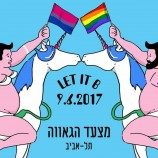 Parade LGBT 2017 Tel Aviv Bertema Visibilitas Biseksual