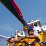 Myanmar Merayakan LGBT Pride dengan Parade Kapal untuk Pertama Kalinya