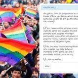 Kongres Filipina Meluncurkan Jajak Pendapat Online Tentang Kemitraan Pasangan LGBT