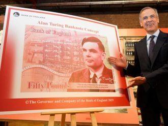 Alan Turing Dipilih untuk Menjadi Tokoh dalam Uang Kertas Terbaru Bank of England