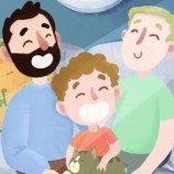 Video Animasi Anak Kecil yang Menemukan Keluarganya
