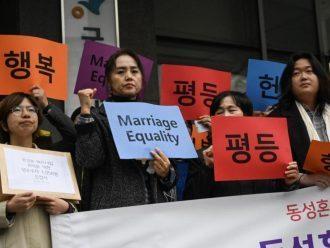 Aktivis LGBT di Korea Selatan Mendorong Kesetaraan Pernikahan