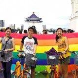 Taiwan Bersepeda untuk Menunjukkan Bagaimana Taiwan Menjadi Mercusuar Bagi Hak-Hak LGBT