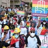 Kelompok LGBT dan Etnis Turun ke Jalan untuk Memprotes Junta Militer Myanmar