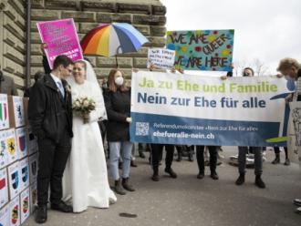 UU Kesetaraan Pernikahan Swiss Dihadapkan Pada Referendum Nasional