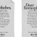 Kampanye Baru Skotlandia Melawan Homofobia dan Transfobia